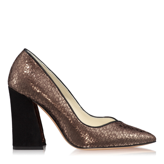 Pantofi Eleganti Dama Betty Camoscio Domino F1