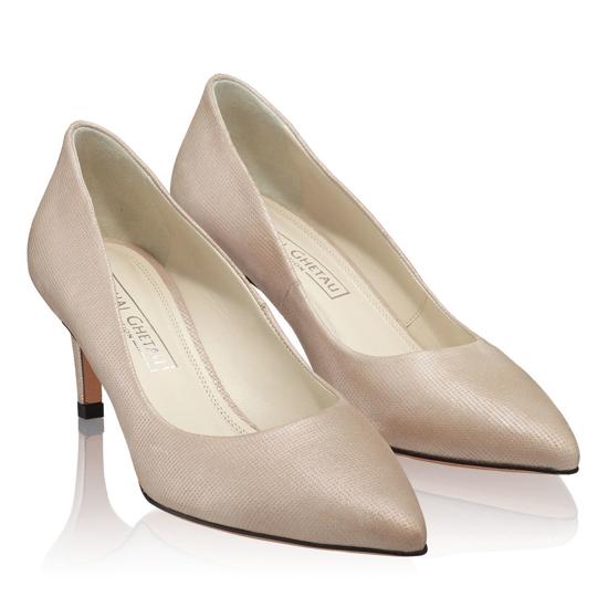 Pantofi Eleganti Dama Anne Nude Oro F2
