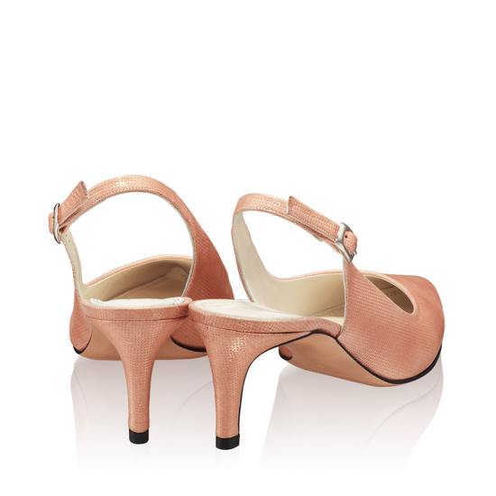 Pantofi Eleganti Dama Candy Roz Oro F3