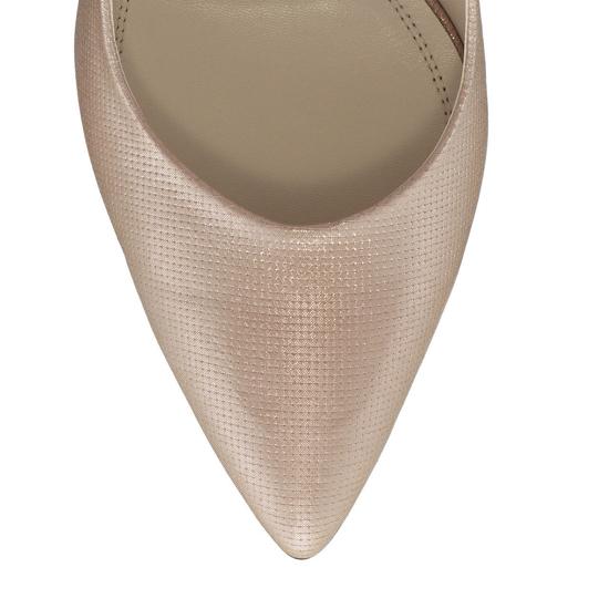 Pantofi Eleganti Dama Candy Nude Oro F5
