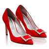 Pantofi Eleganti Dama Anne Rosu F2