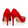 Pantofi Eleganti Dama Anne Rosu F3