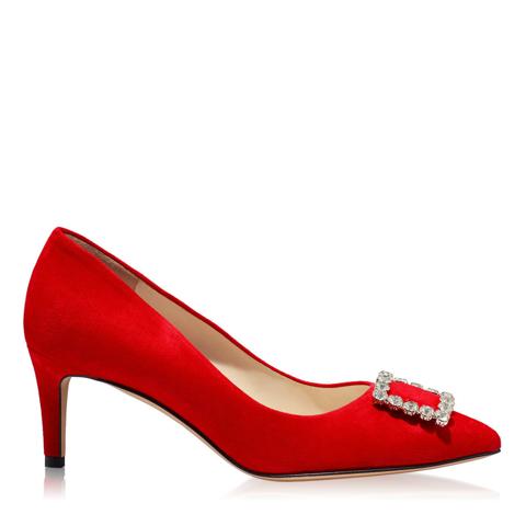 Pantofi Eleganti Dama Anne Rosu 02 F1