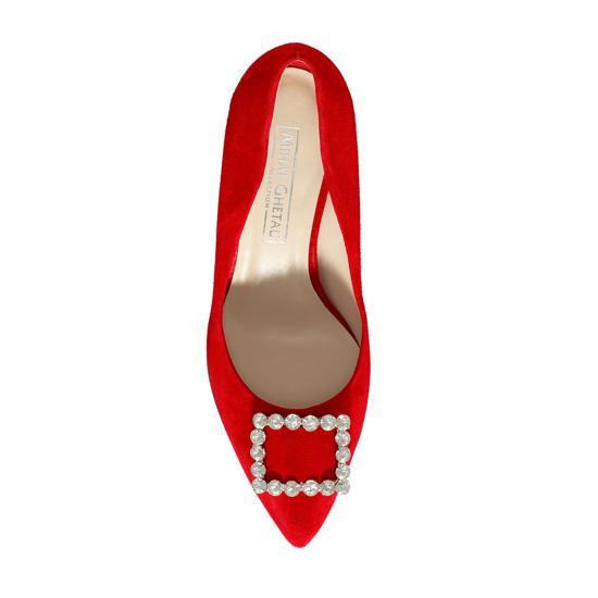 Pantofi Eleganti Dama Anne Rosu 02 F4