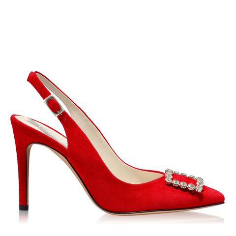 Pantofi Eleganti Dama Candy Rosu 02 F1