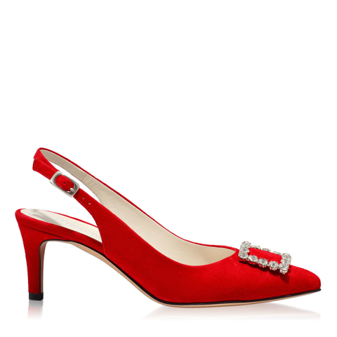 Pantofi Eleganti Dama Candy Rosu 03 F1
