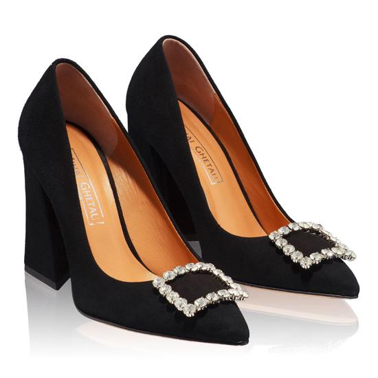 Pantofi Eleganti Dama Anne Negru F2
