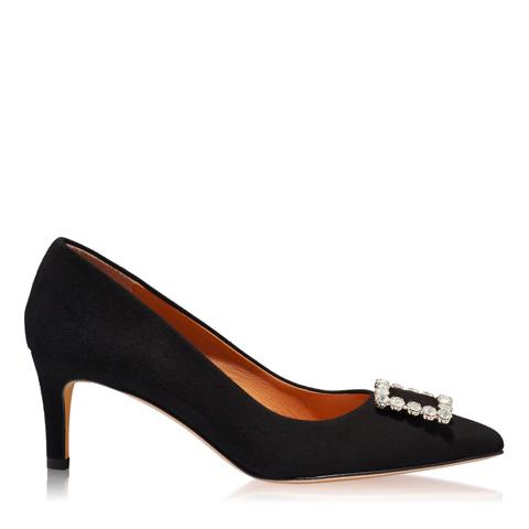 Pantofi Eleganti Dama Anne Negru 03 F1