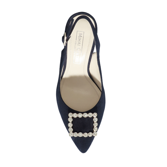 Pantofi Eleganti Dama Candy Blue 02 F4