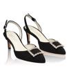 Sandale Elegante Dama Camy Negru 02 F2