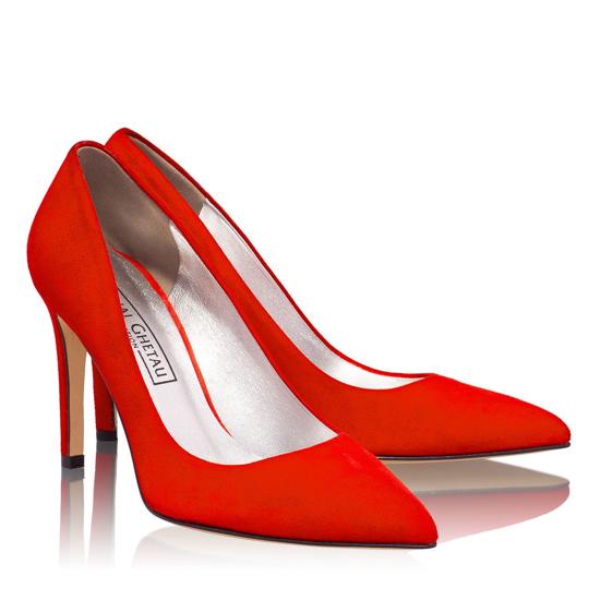 Pantofi Eleganti Dama Anne Rosu 04 F2