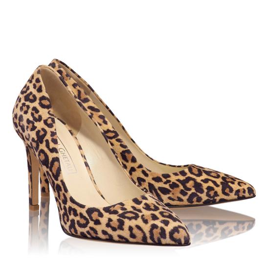 Pantofi Eleganti Dama Anne Animal Print Lynx F2