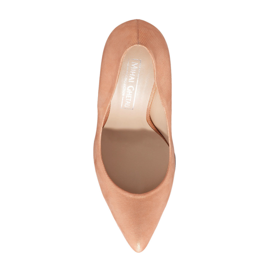 Pantofi Eleganti Dama Anne Roz Oro 02 F4