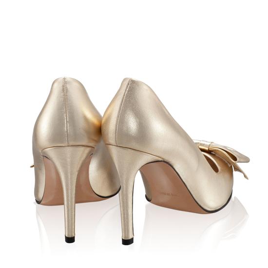 Imagine Pantofi Eleganti Dama Anne Oro 9-02-1