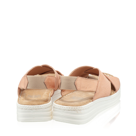 Imagine Sandale Dama Confort Xenia Roz Oro