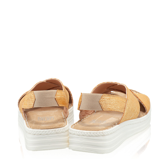 Imagine Sandale Dama Confort Xenia Galben