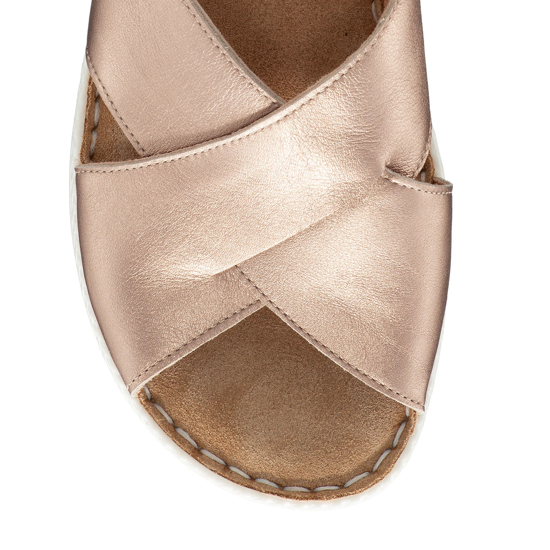 Imagine Sandale Dama Confort Xenia Bronz