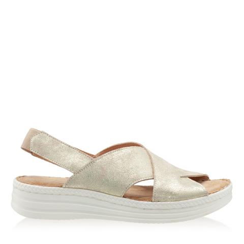 Imagine Sandale Dama Confort Xenia Oro